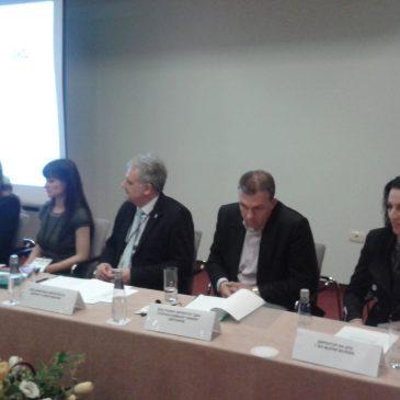 """Провеждане на заключителна пресконференция по проект  """"Чрез обучение към ресоциализация"""""""